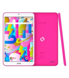 Tablet spc lightyear 8 rosa - qc a35 1.3ghz - 2gb ddr3 - 16gb - 8'/20.32cm ips hd - cam 2mpx- bt - micro sd - bat 3500mah -