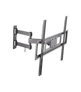 Soporte de pared aisens wt70tsle-021 para pantallas 37-70'/94-177cm - hasta 35kg - giratorio / inclinable / nivelable - vesa