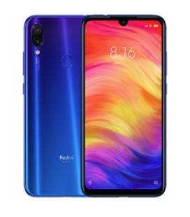 """Telefono movil smartphone xiaomi redmi note 7 / 6.3""""/ blue/ 32gb rom/ 3gb ram / 48+5 mpx - 13 mpx ia/ 4000 mah/ dual sim/ huell"""