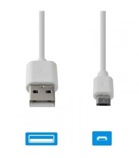 Cable de datos usb-microusb grab'n go gng-122 blanco - 2a - 1m