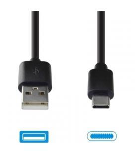 Cable de datos usb-usb tipo-c grab'n go gng-193 negro - 2a - 2m