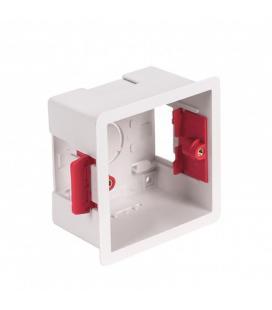 Caja para tabique carton-yeso fonestar 46067 - para el amplificador modelo wa-66r - abs - 86*86*47mm