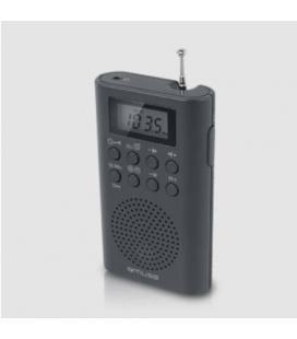 MUSE M-03 R RADIO RELOJ DE BOLSILLO DIGITAL - Imagen 1