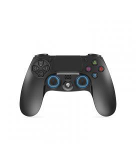 Mando inalámbrico para ps4 spirit of gamer btgp41 - bluetooth - 16 botones - sticks analógicos - doble gatillo - motores doble