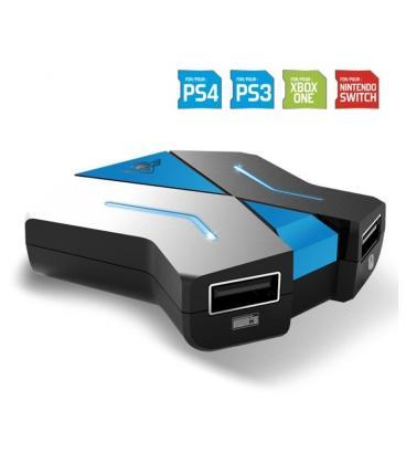Conversor de controladores de consola spirit of gamer cross x game - permite usar cualquier teclado y ratón - plug and play - Im