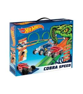 CIRCUITO COCHES HOT WHEELS COBRA SPEED - Imagen 1