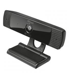 Webcam con micrófono trust gaming gxt 1160 vero streaming - fhd - 8mp - balance de blancos - enfoque fijo - pedestal con pinza