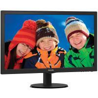 Monitor led philips v-line 243v5lhsb - 23.6'/ 59.9cm fullhd - 1ms - 1000:1 - 250cd/m2 - vga - dvi-d - hdmi - inclinación 5/20º