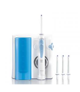 Irrigador dental braun oral-b waterjet md16 - 2 modos de operación - 4 boquillas intercambiables - deposito 600ml