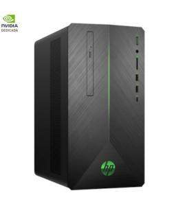 Pc gaming hp pavilion 690-0091ns - i7-8700 3.2ghz - 12gb - 1tb - geforce gtx1050ti 4gb - dvd rw - dvi - hdmi - dport - wifi -