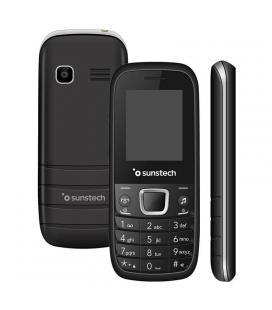 Teléfono móvil senior sunstech tel210sl - pantalla lcd 1.77'/4.5cm - agenda 100 contactos - cámara trasera - fm - bt - linterna