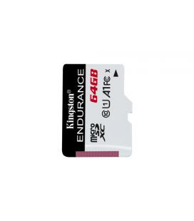 KINGSTON 64GB MICROSDXC ENDURANCE 95R/30W C10 A1 UHS-I CARD ONLY