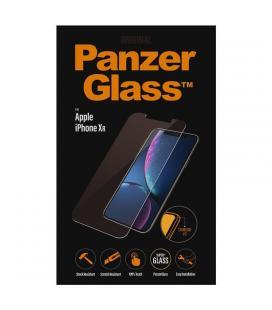 Protector de pantalla panzerglass 2638 para iphone xr - cristal templado 0.4mm - para superficie no curva