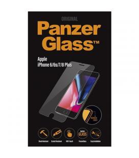 Protector de pantalla panzerglass 2004 para iphone 6/6s/7/8 plus - 5.5'/14cm - cristal templado 0.4mm - bordes redondeados
