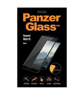 Protector de pantalla panzerglass 5287 para huawei mate 10 - marco negro - cristal templado 0.4mm - para superficie no curva