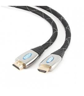 Gembird Cable HDMI 4K 3D (M)-(M) Mallado Gold 3 Mt