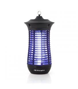 Atrapa insectos orbegozo mq 4018 - 18w - elimina insectos con descarga eléctrica - luz ultravioleta - uso interior/exterior - -