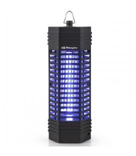 Atrapa insectos orbegozo mq 3006 - 6w - elimina insectos con descarga eléctrica - luz ultravioleta - uso interior - area 25m2 -