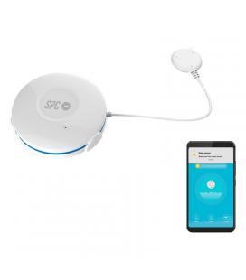 Sensor inteligente de fuga de agua spc eluvio - wifi - incluye cable 1.2m/soporte/tornillo/2*ancla