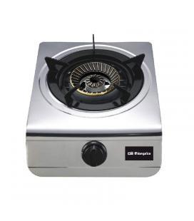 Hornillo orbegozo fo-1700 - gas butano o gas propano - encendido piezoeléctrico - quemador triple corona - 305*145*410mm - uso