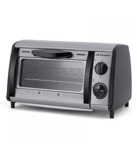 Mini horno / tostador multifuncion orbegozo ho 810 a silver - 800w - 8l - 2 barras calefactoras de cuarzo - temporizador 15
