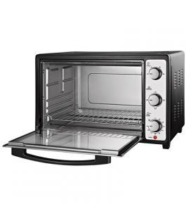 Mini horno / tostador mondial fr19 - 1800w - 48l - temporizador 90 min - doble cristal - bandeja y rejilla extraibles