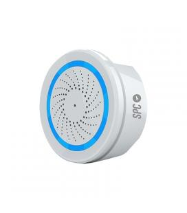 Alarma inteligente wifi spc sonus - incluye adaptador usb - sirena / tornillo / ancla (*3)