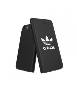 Carcasa adidas original basics fw18 blanco / negro compatible con iphone 6 / 6s / 7/ 8