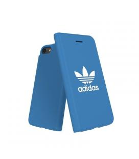 Carcasa adidas original basics fw18 blanco / azul compatible con iphone 6 / 6s / 7/ 8
