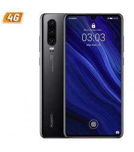 Smartphone móvil huawei p30 black - 6.1'/15.4cm - cámara (40+16+8mp)/32mp - kirin 980 - 128gb - 4gb ram - dual sim - android 9