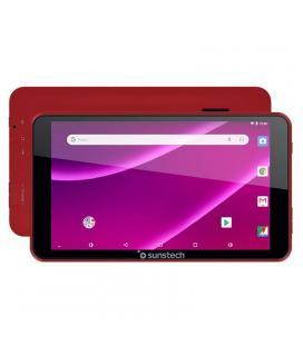 Tablet sunstech tab781 red - qc 1.2ghz - 1gb ram - 8gb - 7'/17.7cm 1024*600 - android 8.1 - cam vga - bat 2400mah