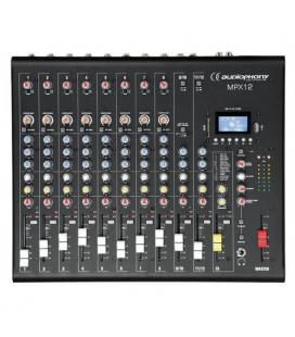 MPX-12 MEZCLADOR 6C DSP /USB / SD / BT AUDIOPHONY
