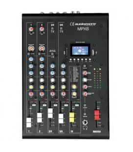 MPX-6 MEZCLADOR 6C DSP /USB / SD / BT AUDIOPHONY