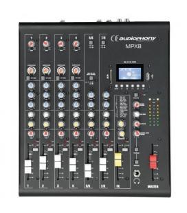 MPX-8 MEZCLADOR 8C DSP /USB / SD / BT AUDIOPHONY