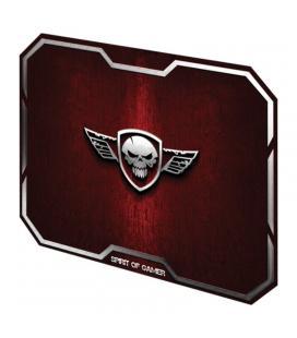 Alfombrilla spirit of gamer red winged skull m - 29.6*23.6cm - textura ultrafina - base antideslizante - Imagen 1