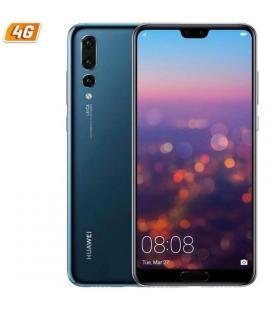 Smartphone móvil huawei p20 pro blue - 6.1'/15.4cm - cám (40+20+8)mp/24mp - oc kirin 970 - 128gb - 6gb - dual sim - android 8.1