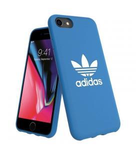 Carcasa adidas original basics blanca/azul compatible con iphone 6 / 6s / 7 / 8