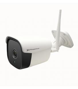 Camara de seguridad phoenix exterior con wifi / full hd / vision nocturna / deteccion movimiento / microfono y altavoz / ip66