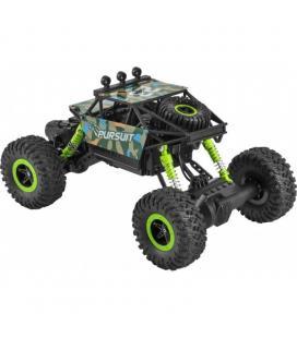 Car ugo rc climber - 25km/h - emisor 2.4ghz - 600mah - alcance 50m - escala 1:18 - autonomía 15 min - negro/verde