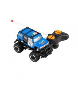 Car ugo rc police - 10km/h - alcance 10m - fuente de alimentación 4*aa - escala 1:43 - azul