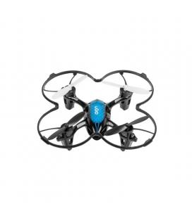 Dron ugo fen - cuadricoptero - alcance 80m - cámara vga - microsd - autonomía 15 min - 3* modos de velocidad - incluye hélice