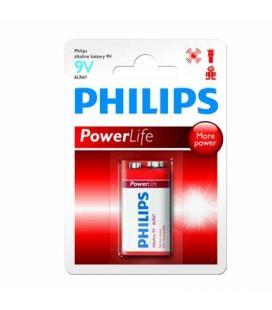 Philips Pila alcalina 9V 6LR61 - Imagen 1