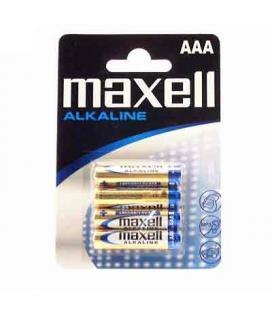 Maxell pila alcalina 1.5V Tipo AAA Pack4 - Imagen 1