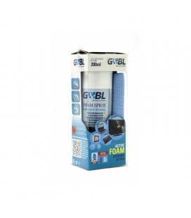 Kit de limpieza gebl spsc200hq limpiador 200ml + paño microfibra - Imagen 1