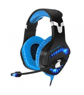 Auriculares con micrófono spirit of gamer elite-h40 blue - drivers 50mm - conector usb - retroiluminación led - cable 2.2m