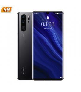 Smartphone móvil huawei p30 pro black - 6.47'/16.43cm - cam (40+20+8mp)/32mp - kirin 980 - 128gb - 6gb ram - dual sim - android