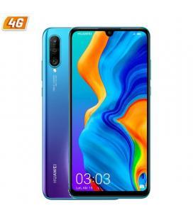Smartphone móvil huawei p30 lite peacock blue - 6.15'/15.6cm - cam (48+8+2mp)/24mp - kirin 710 - 128gb - 4gb ram - dual sim -