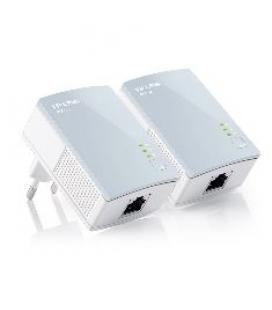 Pack x2 adaptadores de red linea electrica 500mbps power line tp-link - Imagen 1