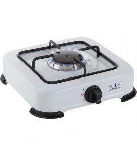 Hornillo jata cc703 - apta para todo tipo de gas licuado - 1 quemador - parrilla - tapa protectora extraíble