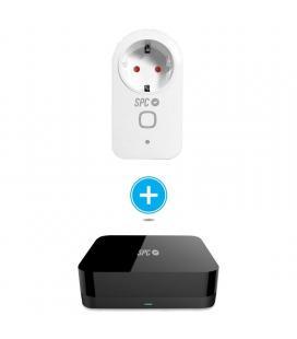 Kit control starter spc 6914k compuesto por enchufe inteligente clever plug + control remoto horus - Imagen 1